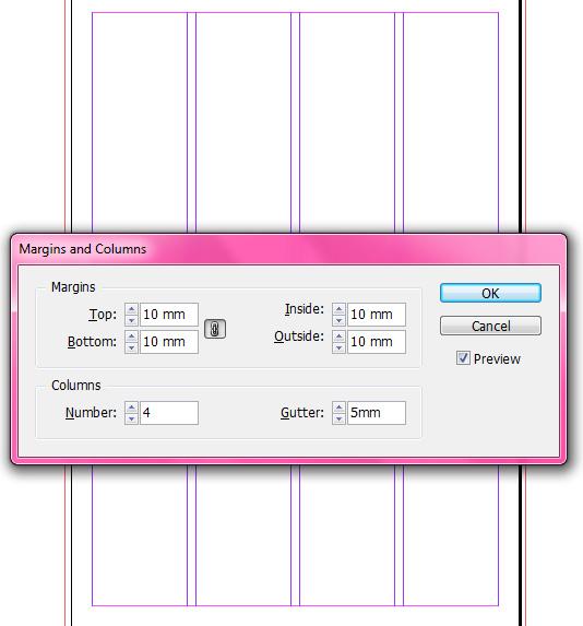 Baseline Grid, Margin and Colums in InDesign | Indek's Weblog